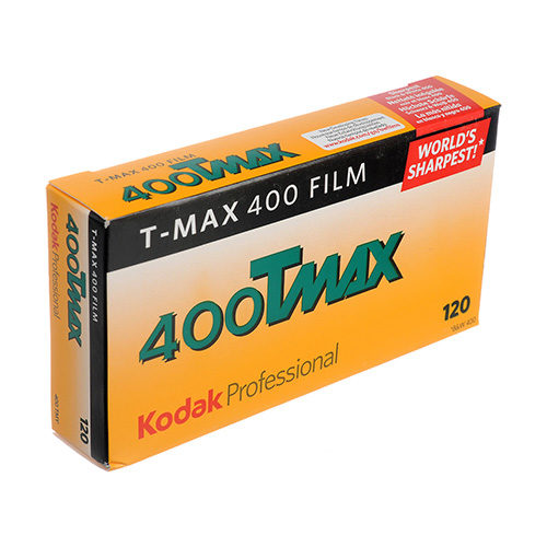 T-Max 400 Middenformaat Rolfilm 120 | 5 pak | FotoFilmFabriek