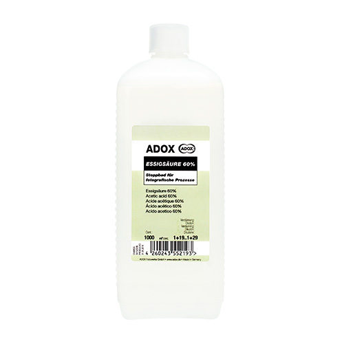 Adox Azijnzuur 60% | 1000ml concentraat