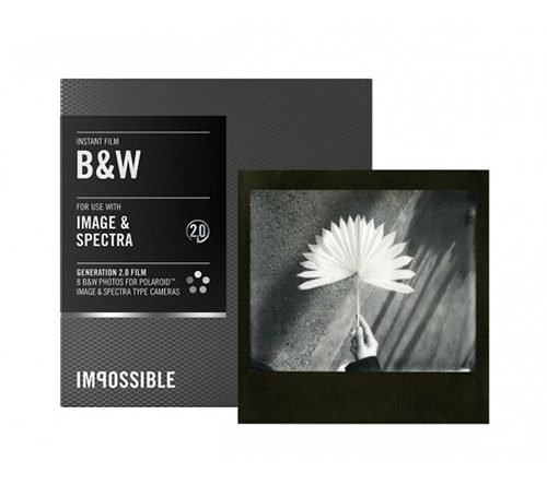 Impossible Spectra Expired B&W Film | Spectra Type | Blackframe | FotoFilmFabriek