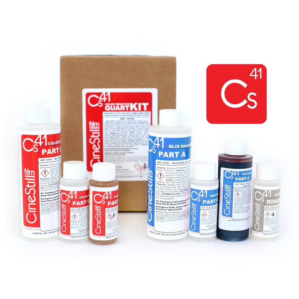 Cinestill Cs41 Color Simplified Quart Kit | FotoFilmFabriek | Het Magazijn Dordrecht