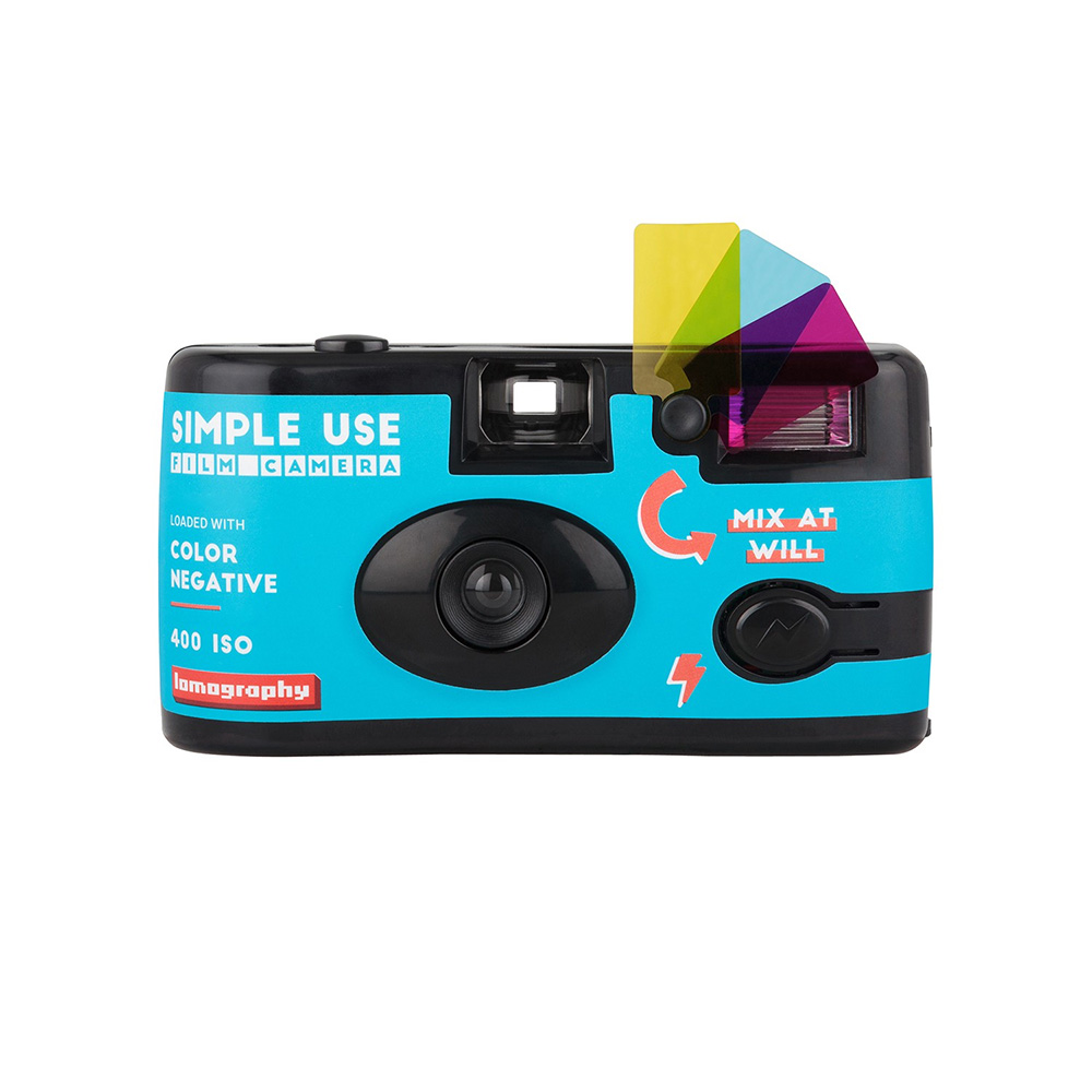 Lomography | Simple Use Film Camera loaded with color negative ISO 400 | Mix at Will | FotoFilmFabriek | Het Magazijn Dordrecht