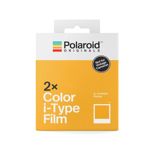 Polaroid Originals | Twin Pack i-Type Color Film | Instant kleurenfilm voor Polaroid Originals i-Type camera's | FotoFilmFabriek | Het Magazijn Dordrecht