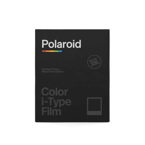 Polaroid Black Frame Edition Color i-Type Film | FotoFilmFabriek