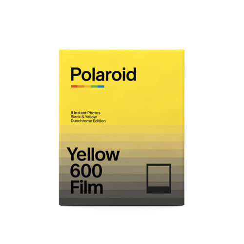 Polaroid Black & Yellow 600 Film | Duochrome Edition | FotoFilmFabriek